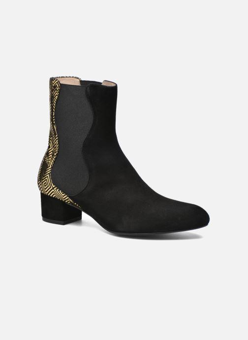 Bottines et boots Mellow Yellow Atonino Noir vue détail/paire
