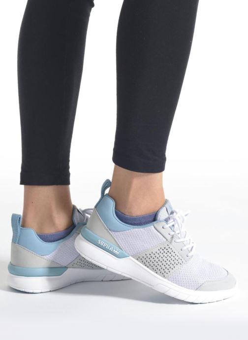 Sneakers Supra Scissor w Grigio immagine dal basso