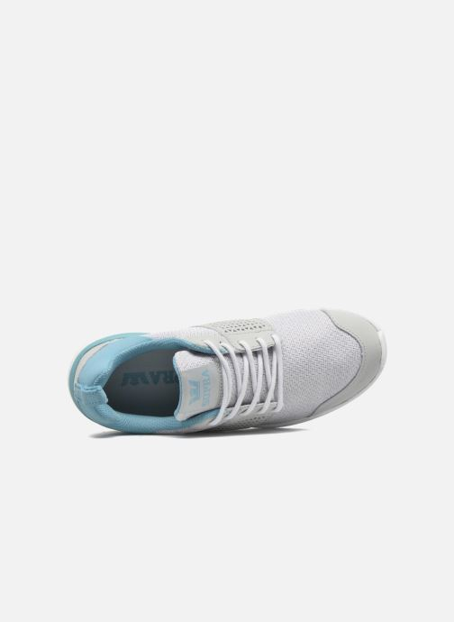 Sneakers Supra Scissor w Grigio immagine sinistra