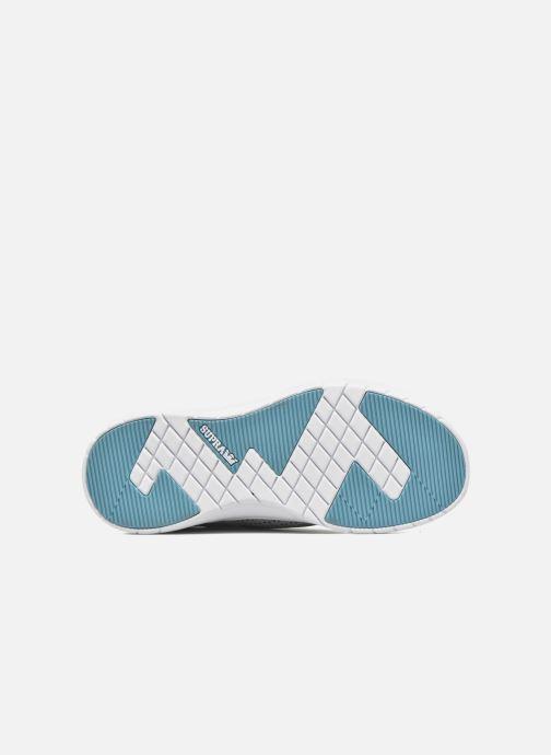 Sneakers Supra Scissor w Grigio immagine dall'alto