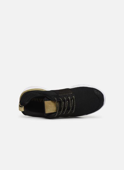 Sneakers Supra Scissor w Nero immagine sinistra