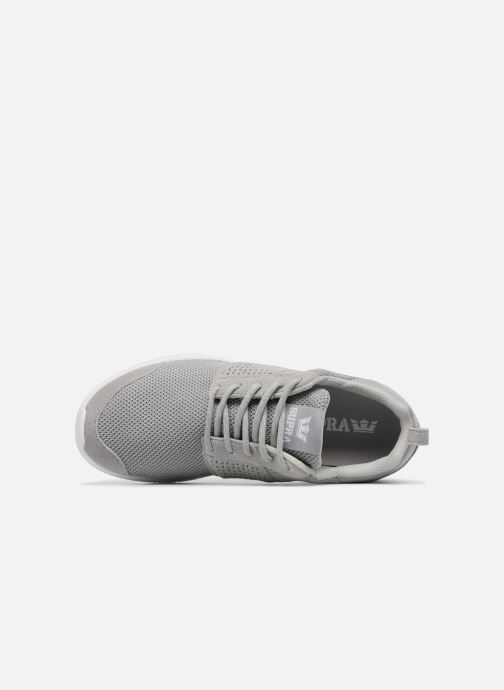 Trainers Supra Scissor Grey view from the left