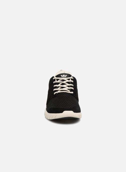 Sneaker Supra Scissor schwarz schuhe getragen