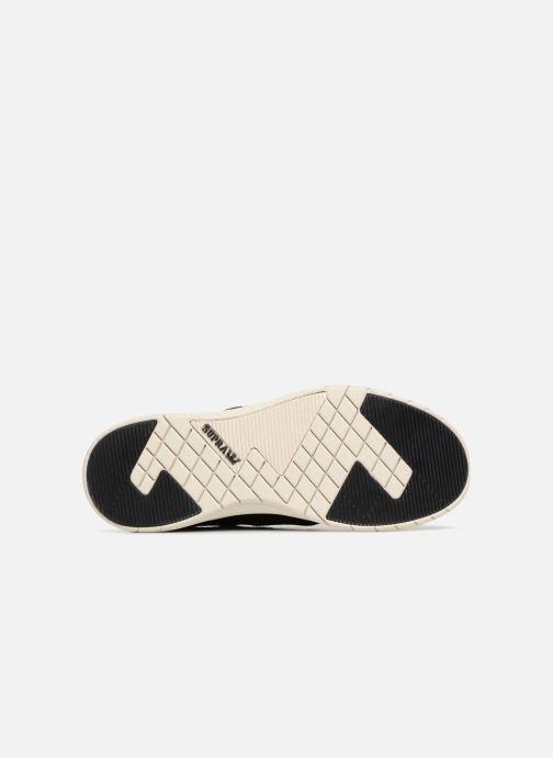 Sneaker Supra Scissor schwarz ansicht von oben