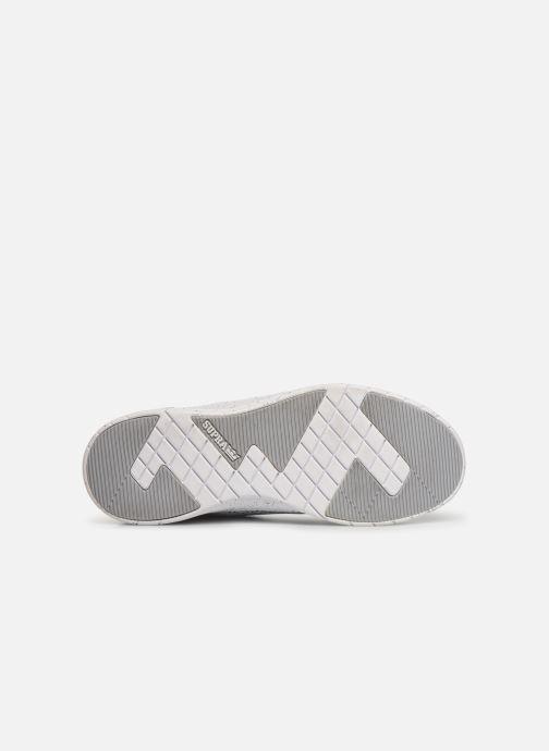 Baskets Supra Scissor Blanc vue haut