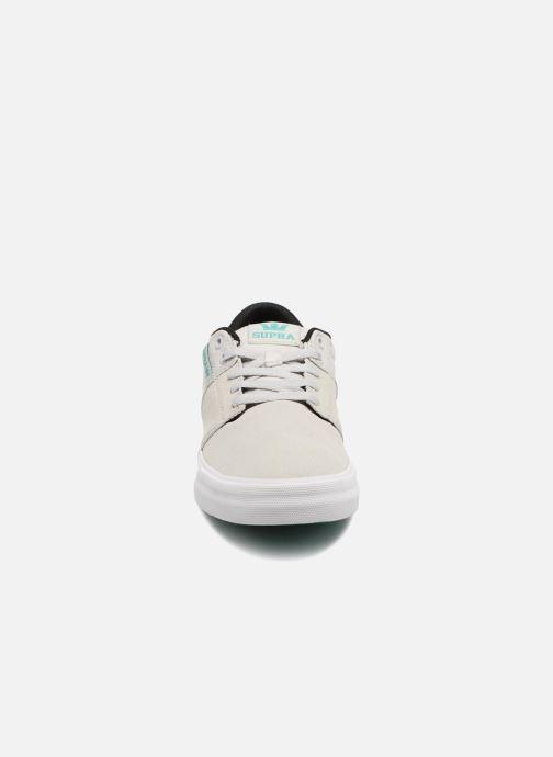Chaussures de sport Supra Stacks Vulc II Gris vue portées chaussures