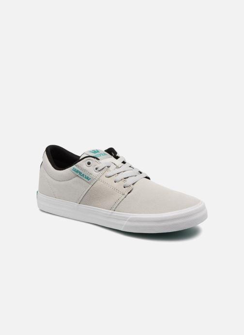 Chaussures de sport Supra Stacks Vulc II Gris vue détail/paire