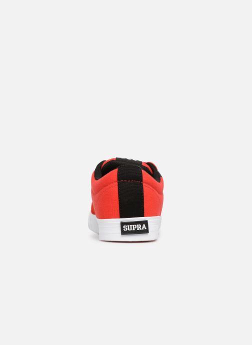 Chaussures de sport Supra Stacks Vulc II Rouge vue droite