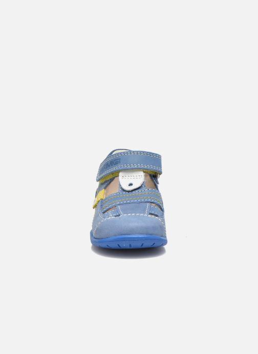 Chaussures à scratch Primigi Ray Bleu vue portées chaussures