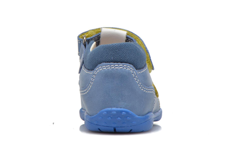Chaussures à scratch Primigi Ray Bleu vue droite