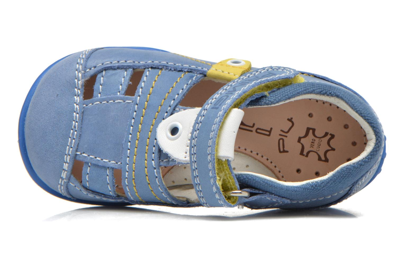 Chaussures à scratch Primigi Ray Bleu vue gauche