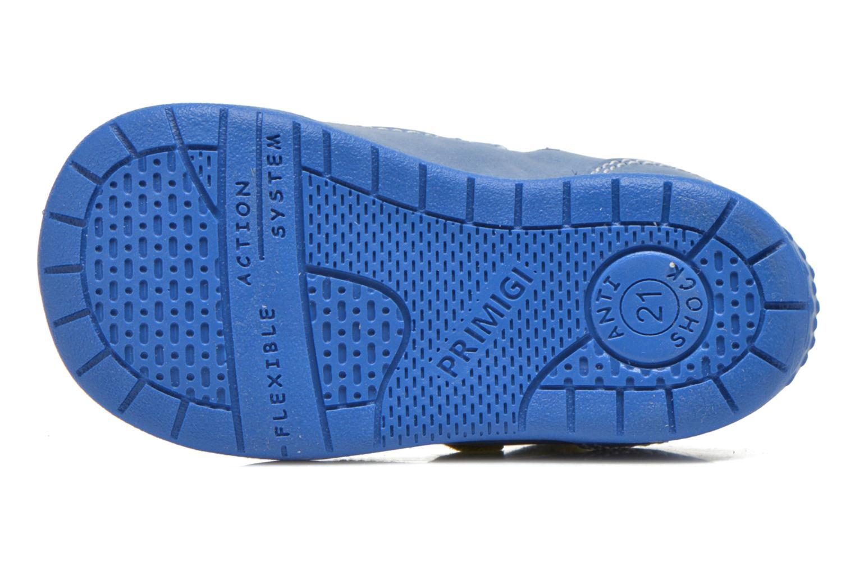Chaussures à scratch Primigi Ray Bleu vue haut