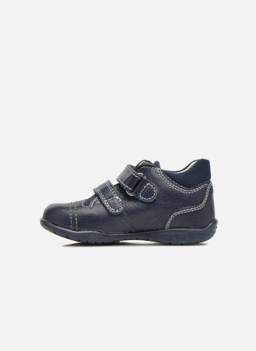 Chaussures à scratch Primigi Tyler Bleu vue face