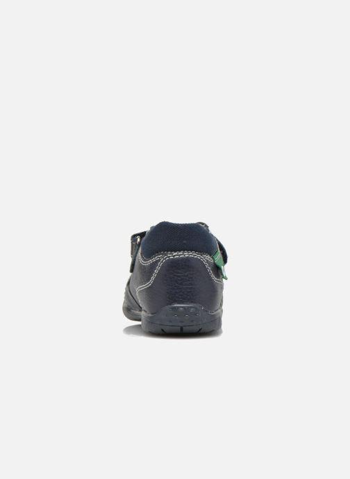 Chaussures à scratch Primigi Tyler Bleu vue droite