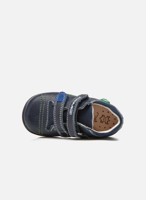 Chaussures à scratch Primigi Tyler Bleu vue gauche