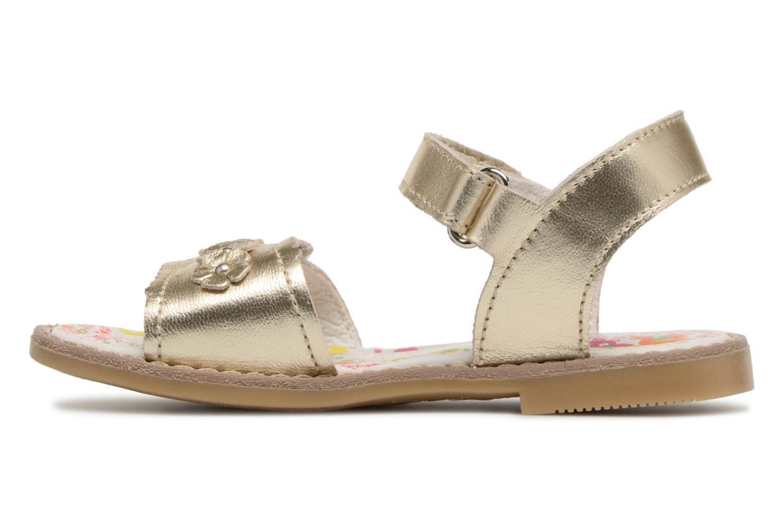 Sandals Primigi Nora Bronze and Gold front view