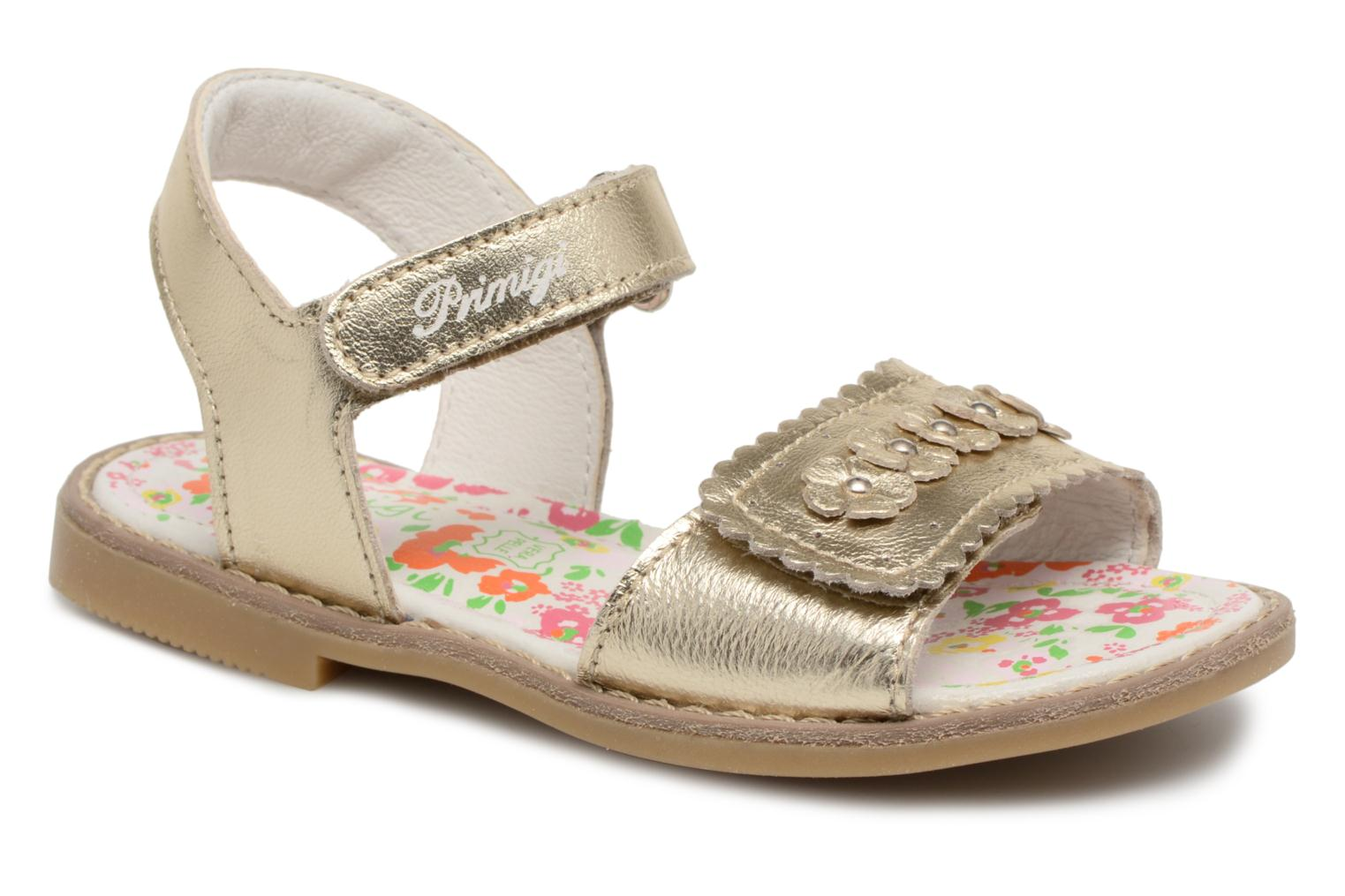 Sandals Primigi Nora Bronze and Gold detailed view/ Pair view