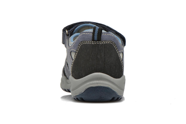Baskets Primigi Motor Bleu vue droite