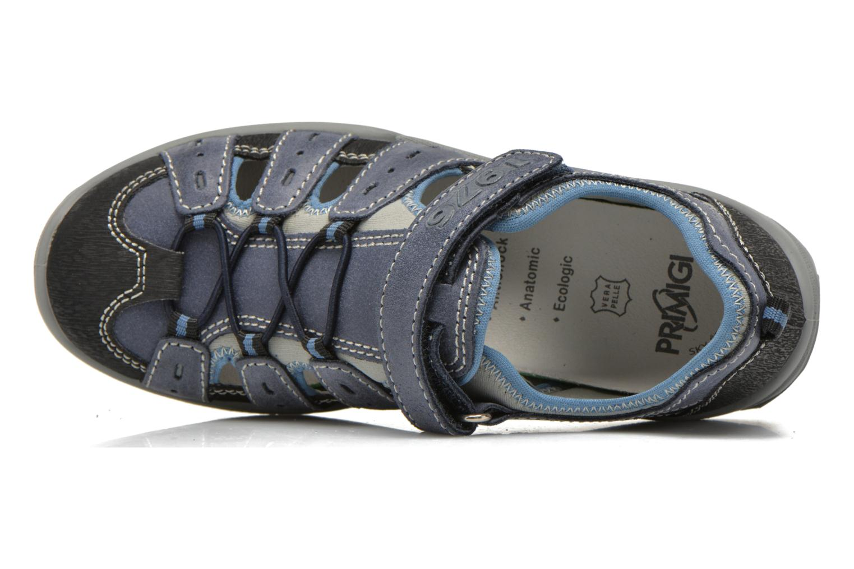 Baskets Primigi Motor Bleu vue gauche