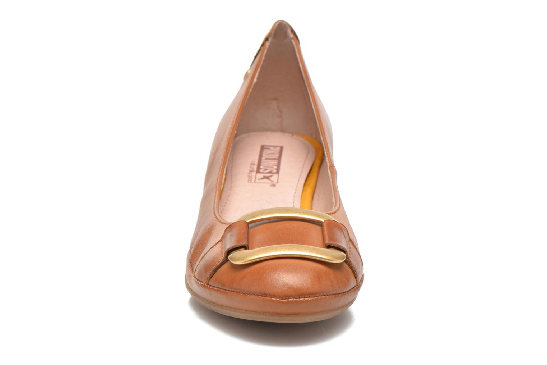 Escarpins Pikolinos Valencia H950-7735 Marron vue portées chaussures