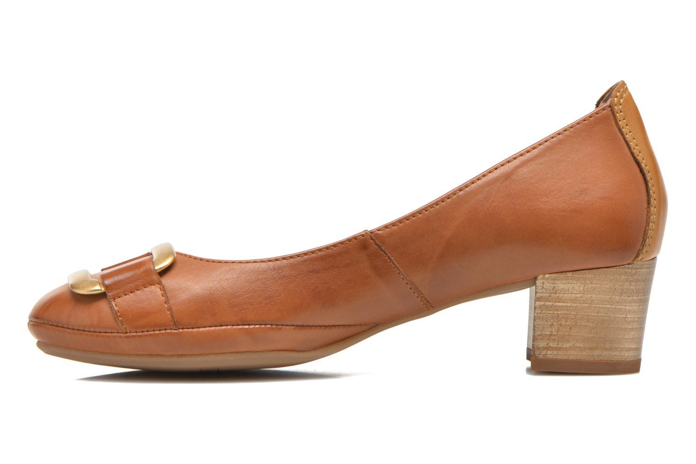 Zapatos de tacón Pikolinos Valencia H950-7735 Marrón vista de frente