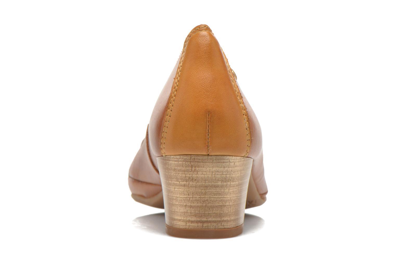 Zapatos de tacón Pikolinos Valencia H950-7735 Marrón vista lateral derecha