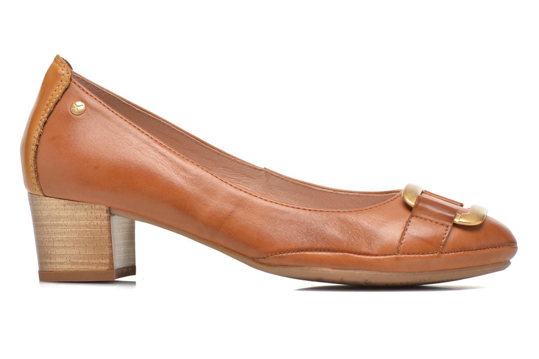 Zapatos de tacón Pikolinos Valencia H950-7735 Marrón vistra trasera