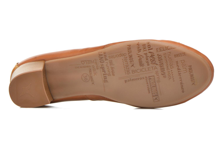 Zapatos de tacón Pikolinos Valencia H950-7735 Marrón vista de arriba
