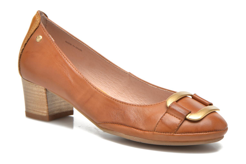 Zapatos de tacón Pikolinos Valencia H950-7735 Marrón vista de detalle / par