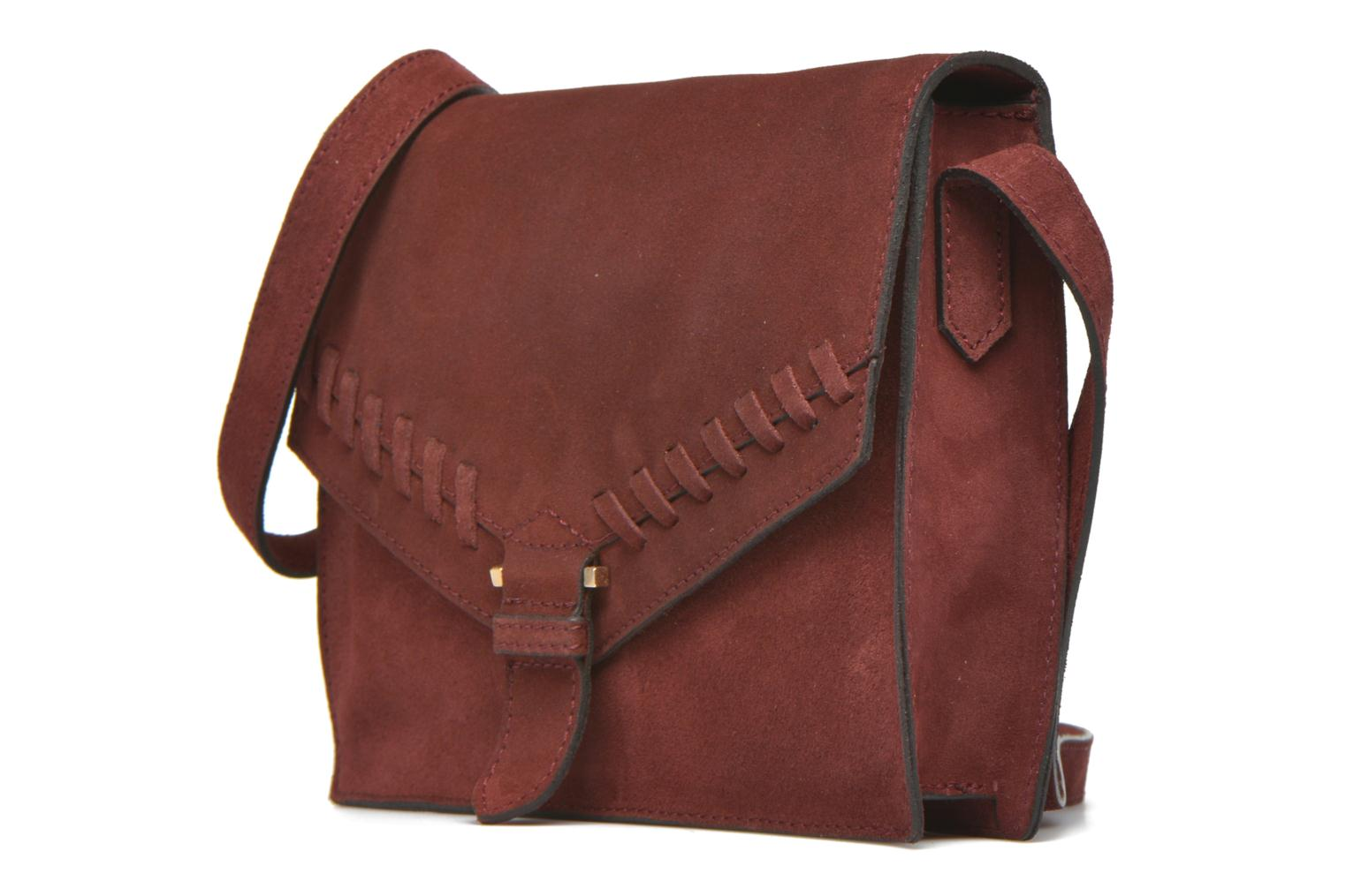 Handbags Minelli MC 909/VEL Porté travers Burgundy model view