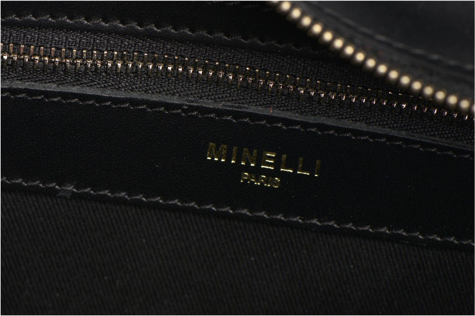 Handbags Minelli MC 926 Porté épaule Black view from the left
