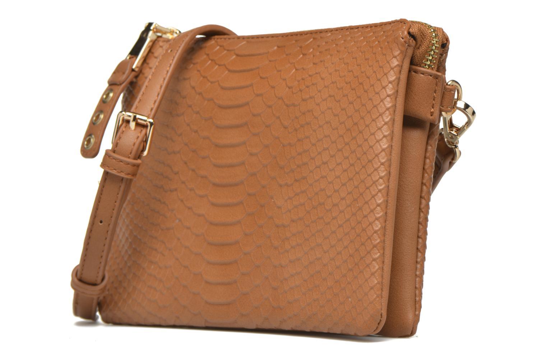Handtaschen Minelli MS 905/IMP Porté travers braun schuhe getragen