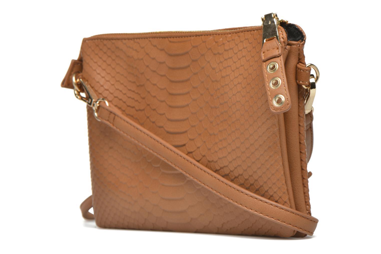 Handtaschen Minelli MS 905/IMP Porté travers braun ansicht von rechts