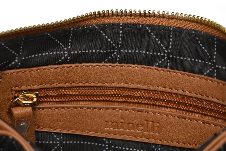 Handtaschen Minelli MS 905/IMP Porté travers braun ansicht von hinten