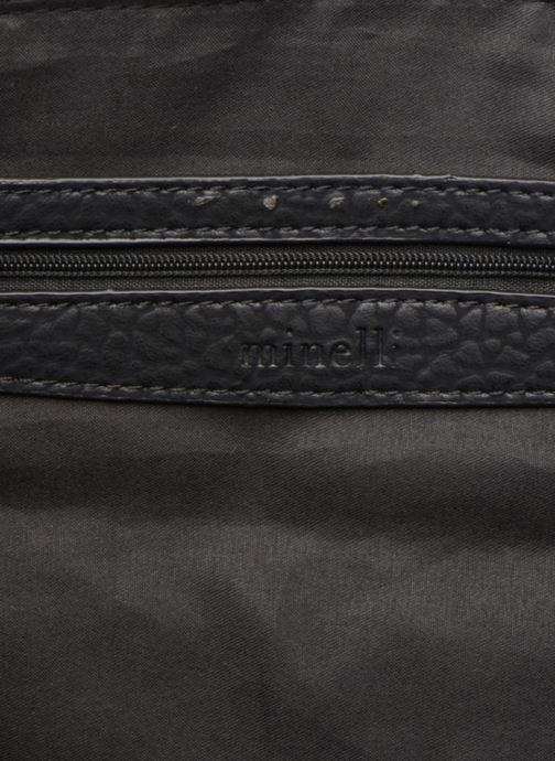 Handtassen Minelli MS 912 Cabas Zwart achterkant