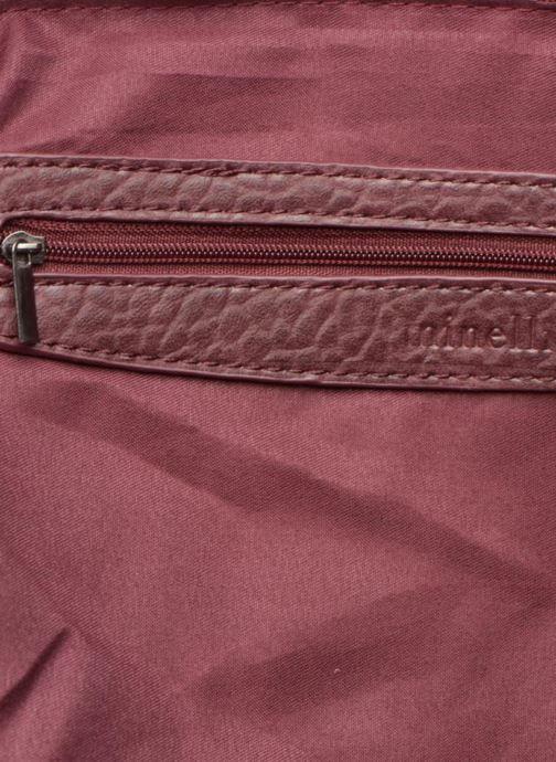 Handtassen Minelli MS 912 Cabas Bordeaux achterkant