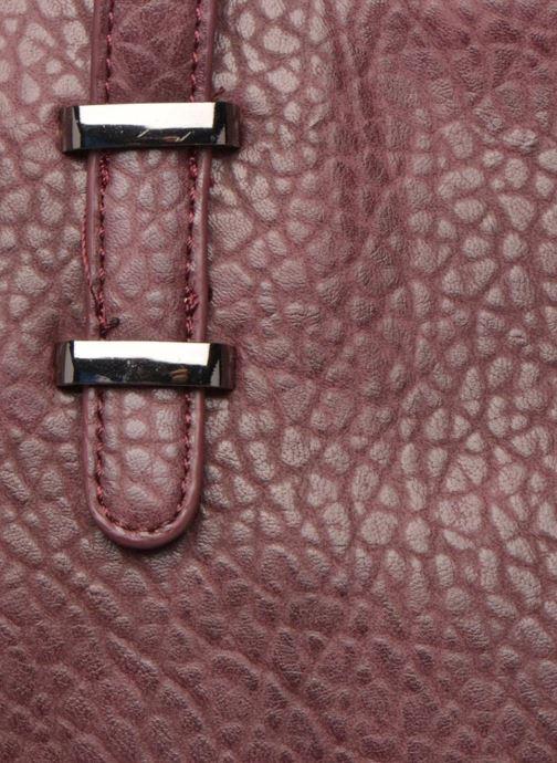 Handtassen Minelli MS 912 Cabas Bordeaux links