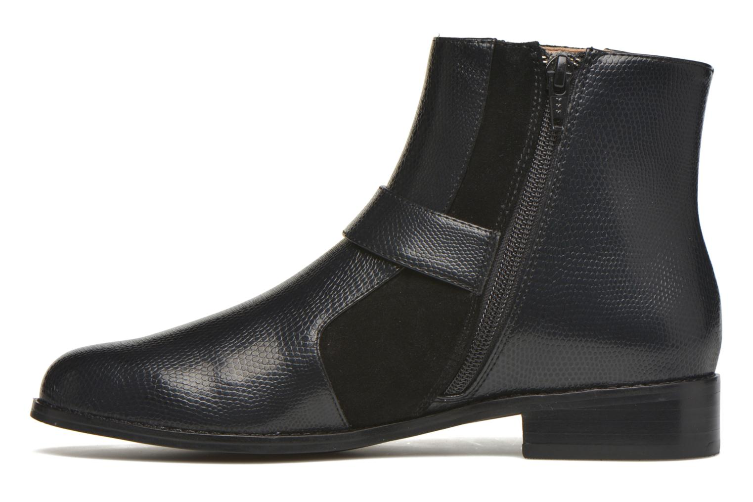 Ankle boots Mellow Yellow Aldana Black front view