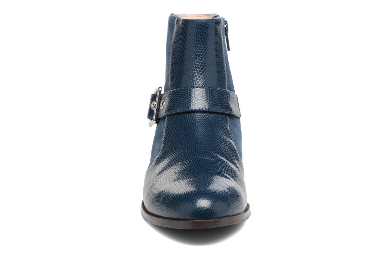 Bottines et boots Mellow Yellow Aldana Bleu vue portées chaussures