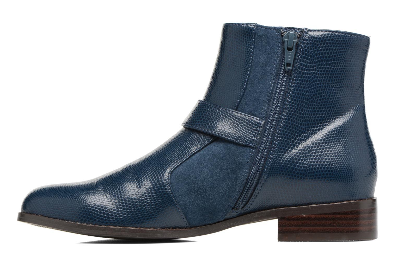 Bottines et boots Mellow Yellow Aldana Bleu vue face