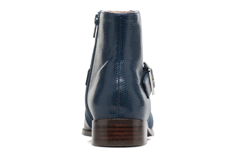 Bottines et boots Mellow Yellow Aldana Bleu vue droite