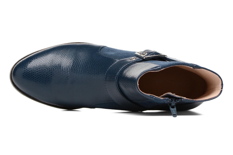 Bottines et boots Mellow Yellow Aldana Bleu vue gauche