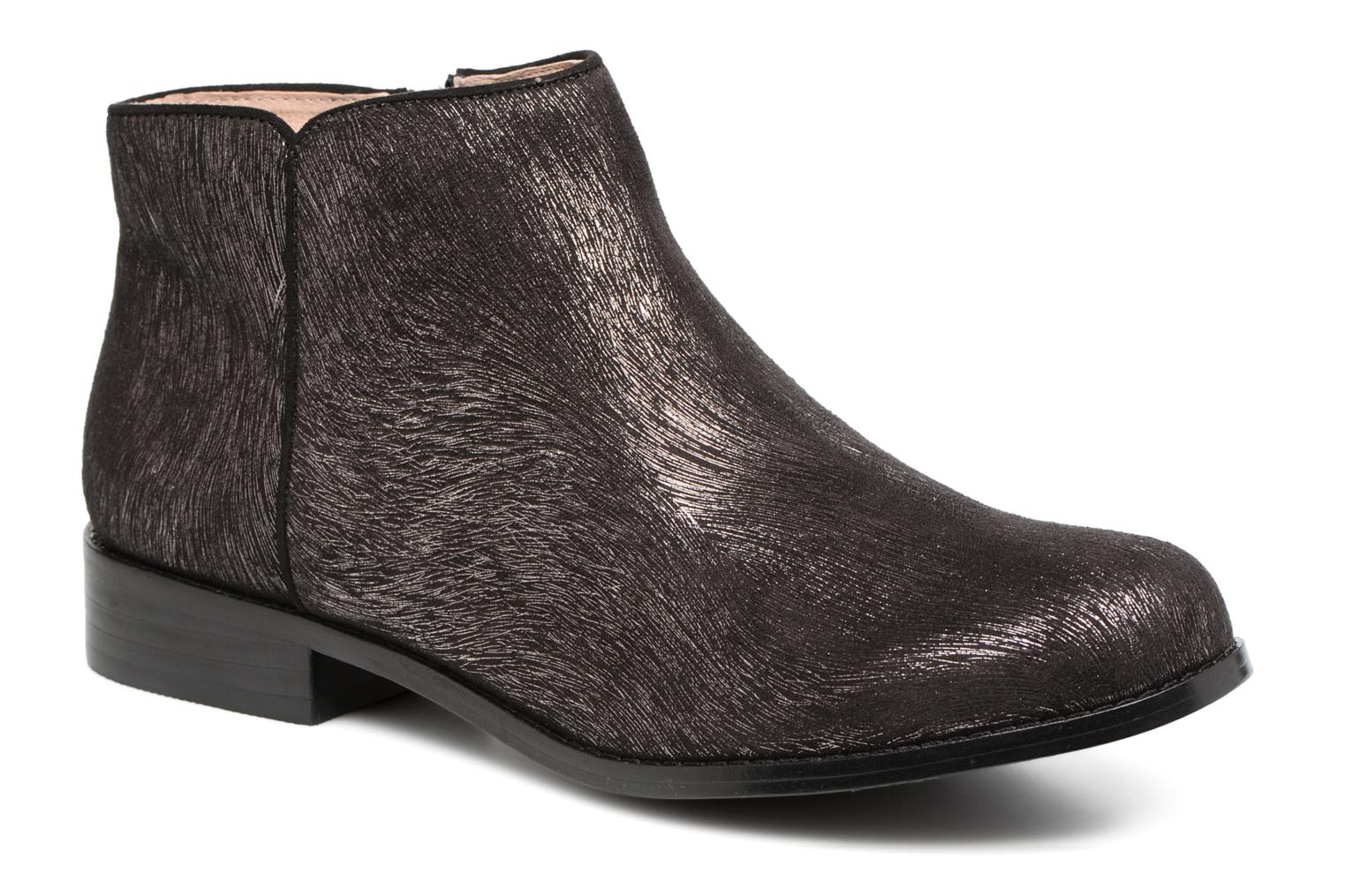 Ankle boots Mellow Yellow Alessia Black detailed view/ Pair view