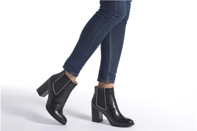 Bottines et boots Mellow Yellow Alexane Noir vue bas / vue portée sac