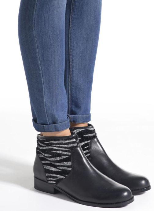 Bottines et boots Mellow Yellow Alicette Noir vue bas / vue portée sac
