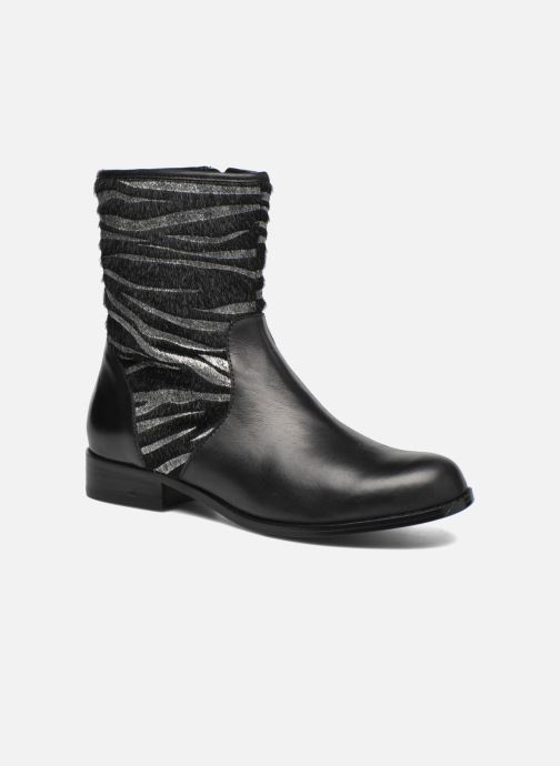 Bottines et boots Mellow Yellow Alicia Noir vue détail/paire