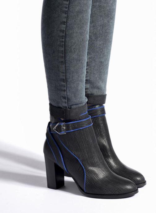 Bottines et boots Mellow Yellow Alida Noir vue bas / vue portée sac