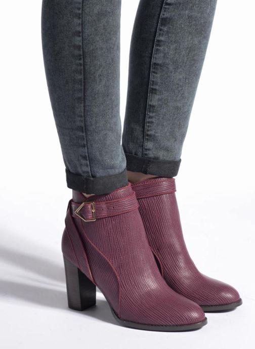 Bottines et boots Mellow Yellow Alida Bordeaux vue bas / vue portée sac