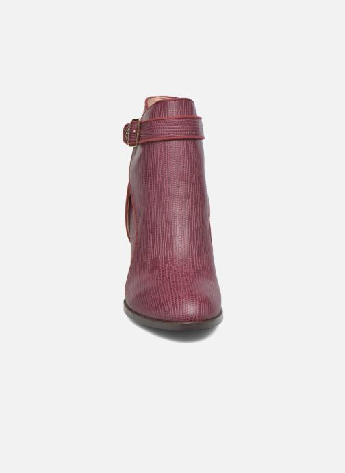 Bottines et boots Mellow Yellow Alida Bordeaux vue portées chaussures