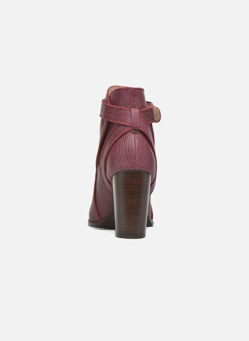 Bottines et boots Mellow Yellow Alida Bordeaux vue droite